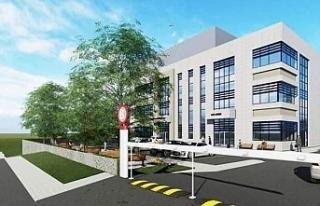 Midyat Ağız ve Diş Sağlığı Merkezi binası...