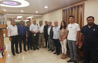 """HÜDA PAR """"24 Temmuz Gazeteciler ve Basın Bayramı""""nda..."""