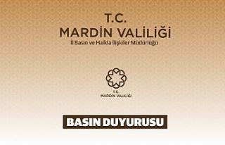 Mardin Valiliğinden Yasaklama Kararı