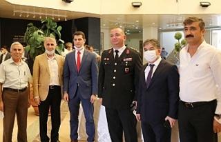 Mardin'de Resmi Bayramlaşma Programı Yapıldı