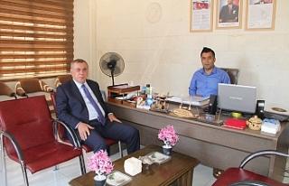 Belediye Başkanı Şahin'den, Engelliler Derneğine...