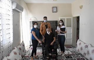 Mardin Büyükşehir Belediyesinden Engelli Vatandaşa...