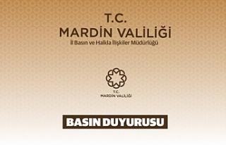 Mardin'de Toplantı ve Gösteri Yürüyüşler...