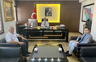 TRT Haber Müdürü Avcı, Midyat'ta temaslarda...