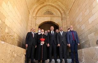 Adalet Bakanı Abdülhamit Gül ziyaret ve incelemelerde...