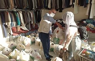 Mardin'de Mevlit Yemeği Yerine Muhtaçlara Gıda...