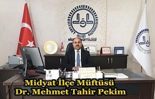 Müftü Pekim, Camiler ve Din Görevlileri Haftası...