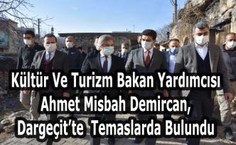 Kültür Ve Turizm Bakan Yardımcısı Demircan, Dargeçit'te