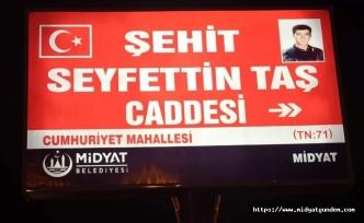 Midyat Belediyesi Şehidini Unutmadı !