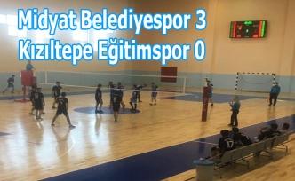 Midyat Belediyespor 3 Kızıltepe Eğitimspor 0