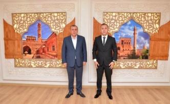 Midyat Kaymakamı Solmaz'dan, Belediye Başkanı Şahin'e ziyaret