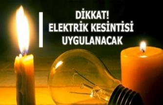 Kızıltepe'de, Elektrik Kesintisi Uygulanacak!