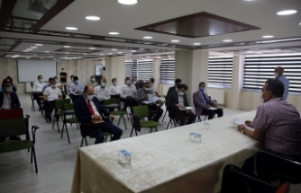 Haziran Ayı Altyapı Koordinasyon Toplantısı Yapıldı