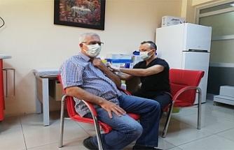 Midyat'ta Covid- 19 Aşı Çalışmaları devam ediyor