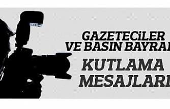24 Temmuz Gazeteciler ve Basın Bayramı Kutlama Mesajları