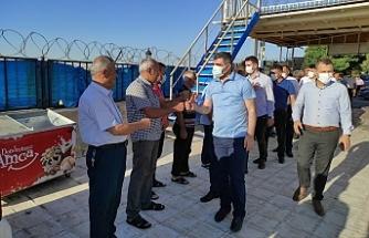 AK Parti Mardin Teşkilatı Midyat'a Çıkarma Yaptı