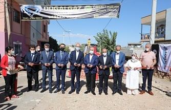 Ömerli'de 'Doğalgaz Temel Atma Töreni' Yapıldı