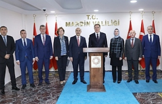 Kamu Başdenetçisi Şeref Malkoç'dan Vali Demirtaş'a Ziyaret
