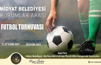 Midyat Belediyesi, Halı Saha Futbol Turnuvası Düzenliyor