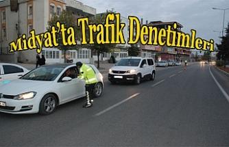 Midyat'ta trafik denetimleri