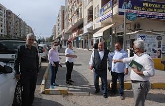 Midyat'ta Yeni durak yerleri belirleniyor