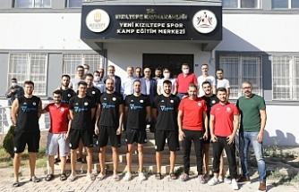 Vali Demirtaş'tan Yeni Kızıltepe Spor Takımına Destek Ziyareti