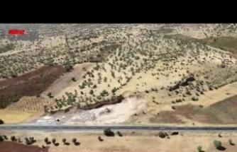 Mardin'de helikopter destekli havadan trafik denetimi