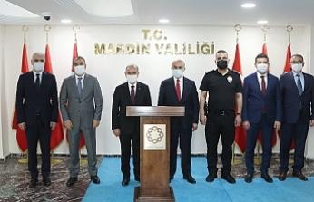 Emniyet Genel Müdürü Aktaş Vali Demirtaş'ı Ziyaret Etti