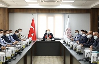 Vali Demirtaş Başkanlığında 'Üniversite Güvenlik Tedbirleri' Toplantısı Yapıldı