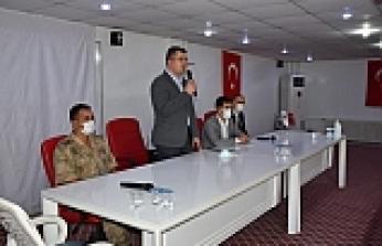 Dargeçit'te Covid19 Bilgilendirme Toplantısı Gerçekleştirildi