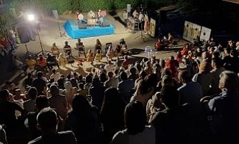 Temmuz ayı etkinlikleri açık hava sineması ve santuri Sedat Anar'ın konseri ile başladı