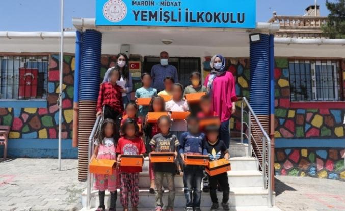 Mardin Büyükşehir Belediyesinden, İhtiyaç sahibi çocukların bayramlık