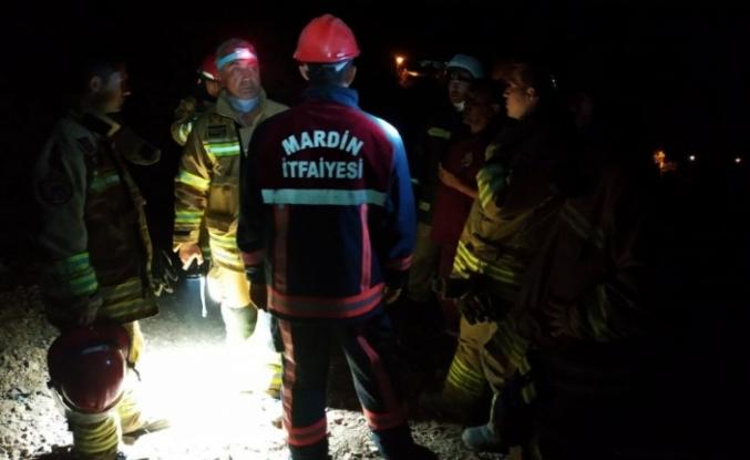 Mardin Büyükşehir Belediyesi yangın bölgesinde çalışmalarını sürdürüyor