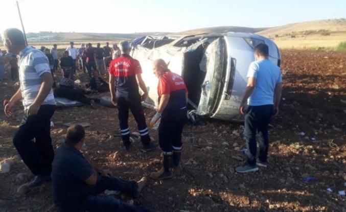 Midyat'ta trafik kazasında 10 kişi yaralandı