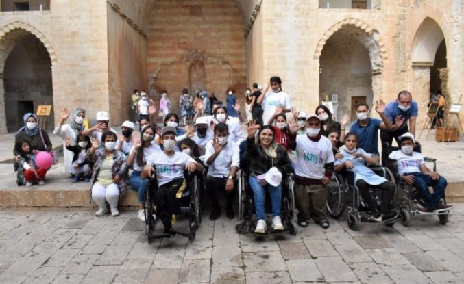 Engelli Çocuklar Gönüllerince Eğlendi