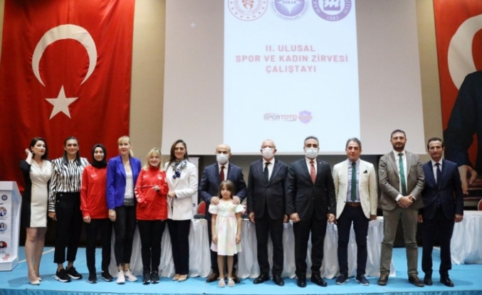 Mardin'de, 2. Ulusal Spor ve Kadın Zirvesi ve Çalıştayı Yapıldı