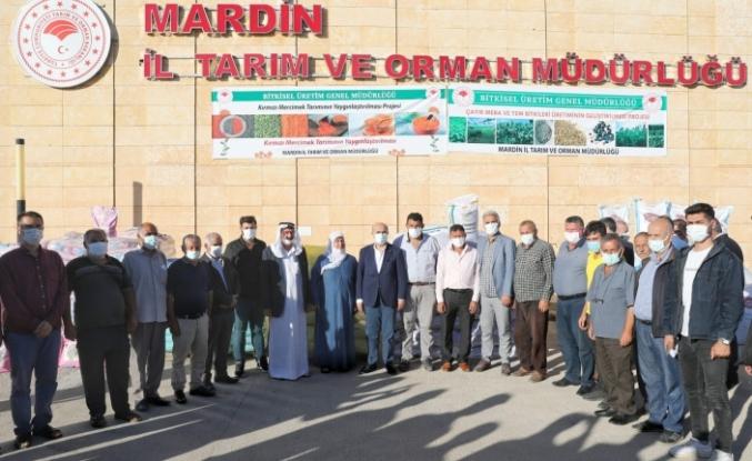 Vali Demirtaş, Tarım Üreticileri İle Bir Araya Geldi