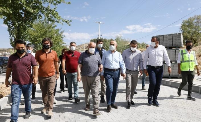"Başkan Demir, ""Yeşilli halkının hizmetindeyiz"""