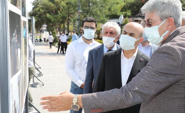 Vali Demirtaş, ''Direnen Filistin'' Fotoğraf Sergisine Katıldı