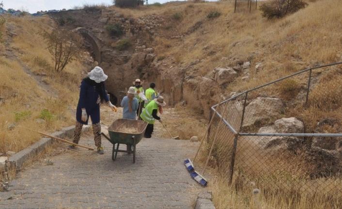 'Mardin Kalesi'nde ki Kazı Çalışmaları Tamamlandı