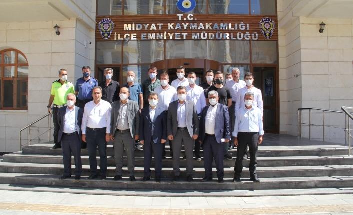 """Midyat'ta """"Mahalle Polisliği"""" Projesi Anlatıldı"""