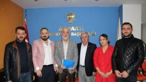 Muharrem İleri, AK Parti'den Midyat aday aday adaylığına başvurdu