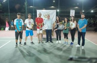 15 Temmuz Demokrasi ve Milli Birlik Tenis Turnuvası sona erdi