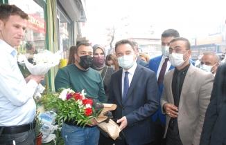 DEVA Partisi Genel Başkanı Babacan, Midyat'ta