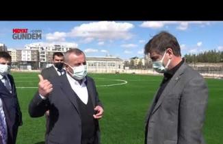 AK Parti Mardin Milletvekilleri Dinçel ve Demirkaya'dan Başkan Şahin'e ziyaret