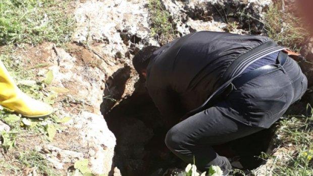 Midyat'ta kuyuda bir kadın cesedi bulundu