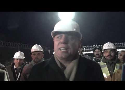 Midyat'ta Doğalgaz Meşalesi Yakıldı