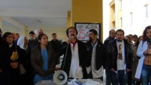 Midyat Sağlık çalışanları 14 Mart Tıp Bayramı'nda iş bıraktı