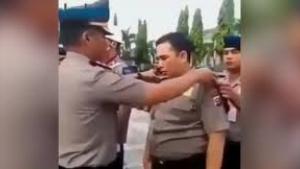 Endonezya'da rüşvet aldığı ispat edilen polis memurunun hali