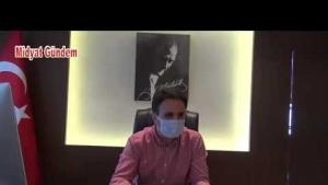 Kaymakam Dundar, koronavirüsle mücadelede ek tedbirleri konuştu